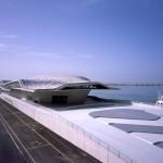 Terminal de Salerno, na Itália: primeira obra pronta pós-morte