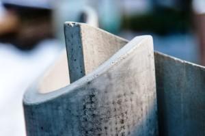 Concreto utiliza malhas de carbono cada vez mais finas e resistentes em sua estrutura
