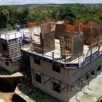 Sistema de paredes de concreto moldadas in loco predomina, principalmente, nas regiões norte e nordeste