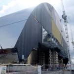 Megaestrutura de aço vai envolver o reator, a fim de impedir que haja novos vazamentos