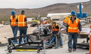 Protótipo foi testado com sucesso dia 11 de maio, no deserto de Nevada