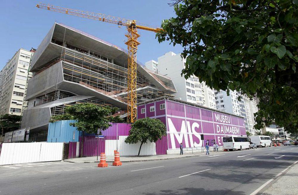 Museu da Imagem e do Som, no Rio de Janeiro: uso de concreto autocicatrizante dispensa impermeabilização nas paredes externas