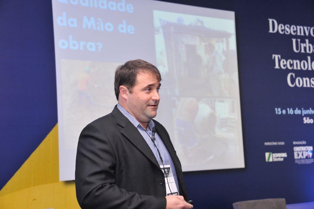 Marco Antonio Pozzobom: em grandes centros urbanos, material é cada vez mais recomendado