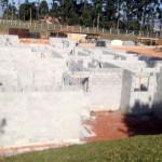 Sistema com blocos de concreto permite construir em larga escala