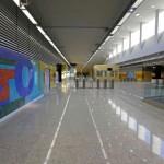Estação Jardim Oceânico, na Barra da Tijuca: ponto final do eixo olímpico