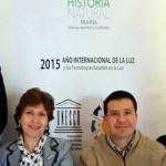 José Carlos Rubio Ávalos (3º da esq. para a dir.): há nove anos liderando a equipe de pesquisa da UMSNH