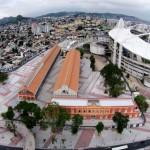 Entorno do estádio olímpico recebeu mais de 130 mil m² de calçamento