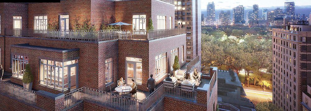 Carlton House: cada unidade custa entre US$ 8 milhões e US$ 22 milhões