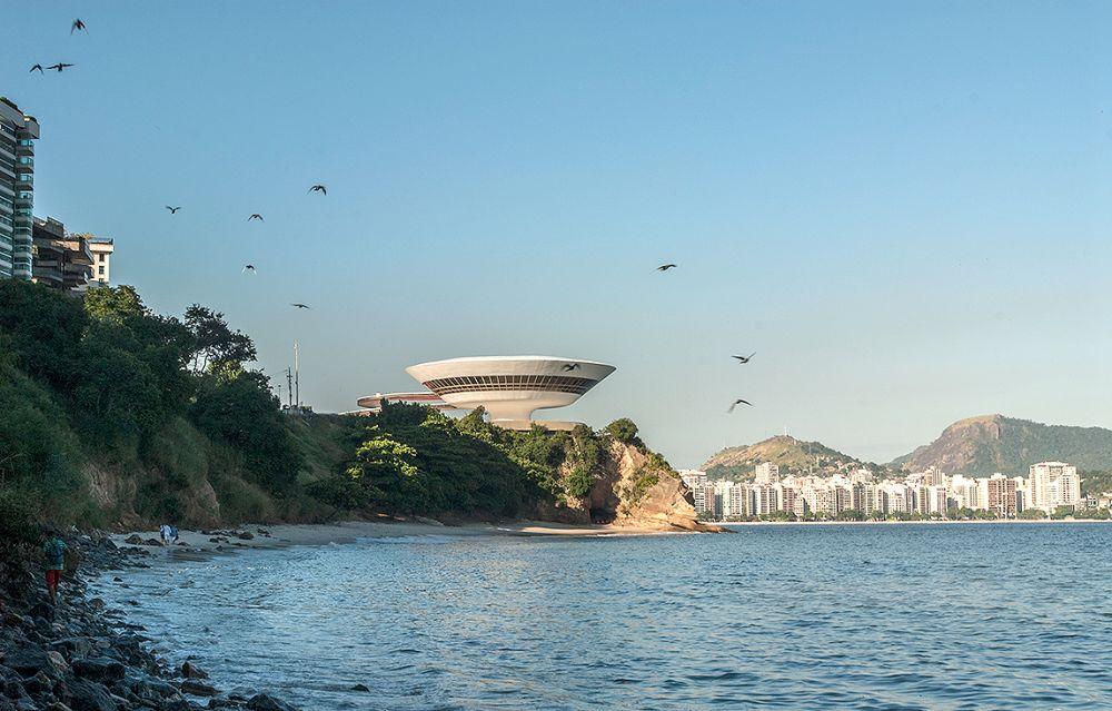 Museu de Arte Contemporânea de Niterói: um dos prédios recentemente tombados pelo IPHAN