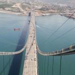 Oman Gazi Bridge tem o quarto maior vão pênsil do mundo