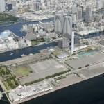 Baía de Tóquio: local onde será erguida uma luxuosa vila olímpica