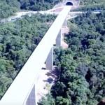 Novo trecho de 4,5 quilômetros, com passagem pelos túneis, será liberado ainda em 2016