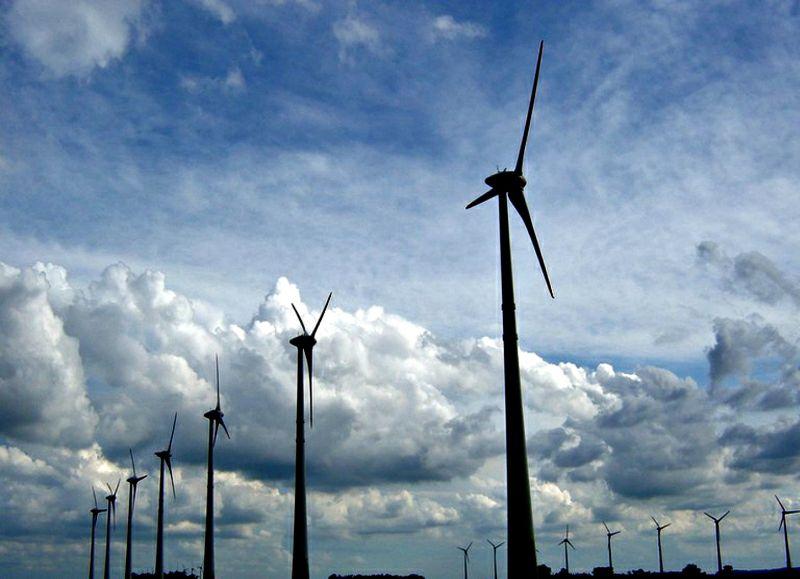 Parque eólico de Osório: 75 torres com 100 metros de altura, feitas em concreto pré-fabricado