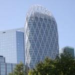 Tour D2: fachada em formato de diamante se destaca entre os demais prédios
