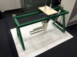 Protótipo da primeira impressora 3D de concreto do Brasil: ideia nascida dentro da UnB