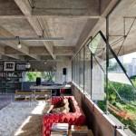 Casa de 1969, assinada pelo arquiteto brasileiro Paulo Mendes da Rocha: restaurada em 2012