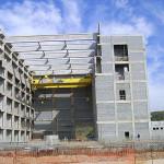 LABGENE, em Iperó-SP: elementos estruturais de sacrifício com a temperatura controlada a gelo