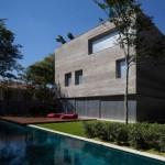 """""""Casa Cubo"""", construída na cidade de São Paulo: assinada pelo escritório MK27"""