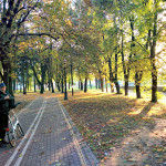 Boa parte dos turistas que percorrem as ciclovias europeias tem acima de 45 anos