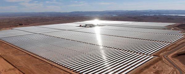 Noor 1: fazenda solar no deserto do Saara está em região com insolação durante 330 dias no ano