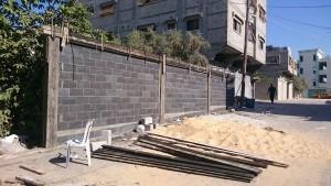 Prédios construídos com os blocos: objetivo é erguer 18 mil unidades em Gaza