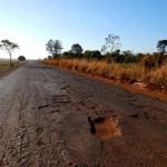 BR-483, em Goiás: para cada 1,5% de rodovias que são recuperadas, 2,7% se degradam no país