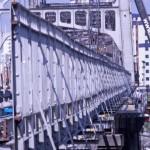 Boa parte da estrutura original da ponte será trocada