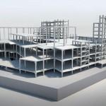 Projeto estrutural do Morumbi Town: elementos pré-fabricados consumiram 6.076,72 m³ de concreto