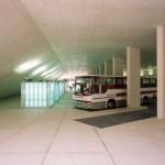 Estação de Mogadouro: área de embarque e desembarque é subterrânea
