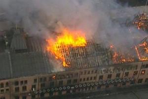 Incêndio de 2015 foi o segundo a atingir o prédio, que também foi destruído pelo fogo em 1947