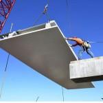 Placas ocas de concreto pré-fabricado vão permitir a passagem do sistema de ar-condicionado