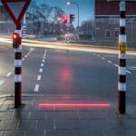 Iluminação de LED instalada em cruzamento da Bodegraven-Reeuwijk: calçada high-tech