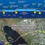 Mapa mostra trajeto do Grande Canal da Nicarágua, que vai ligar o Atlântico ao Pacífico