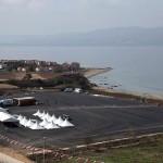 Canteiro de obras da ponte Çanakkale 1915 foi instalado em 18 de março de 2017