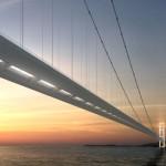 Desenho mostra parte da ponte: projeto é mantido sob sigilo