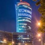 Varsóvia ganhou o maior complexo corporativo da Polônia e ajudou a revitalizar parte da cidade