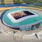 Arena Kazan: estádio já existia e foi reformado para a Copa 2018