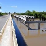 Ponte em obras em Arroio Grande, no trecho da BR-116 entre Porto Alegre e Pelotas: à espera de verba