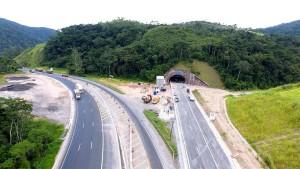 Construção dos túneis foi fundamental para que obra vencesse as barreiras ambientais