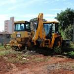 Canteiro de obras do BRT de Campinas começa a receber o maquinário