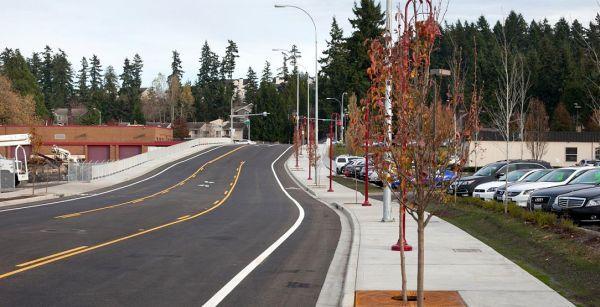 Rodovia em Washington, nos Estados Unidos, com o selo Greenroads: país é pioneiro na certificação