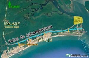 Transformação da PR-412 em via urbana vai se estender por 23,3 quilômetros