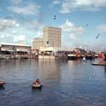 Silo da Cidade do Cabo, em 1955: construído em 1924, funcionou até 2001