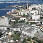Região do Moinho Fluminense, no Rio: projeto prevê retrofit para receber hotel, shopping e escritórios
