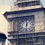 Estrutura de aço que suporta o relógio apresenta problemas e alvenaria do prédio também vai precisa tratar patologias