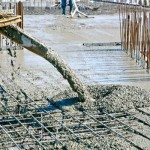 Estudos da reologia do concreto permitem que material consuma menos água, sem perder a trabalhabilidade