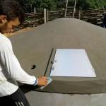 Construção das cisternas segue dois modelos: captação de água e de enxurrada