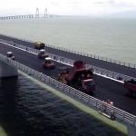 Pavimentação da HZMB levou três anos para ser concluída