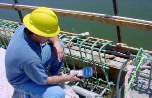 Sensores para monitorar o processo de cura do concreto funcionam, mas em conjunto com cálculos matemáticos