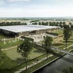 Projeção mostra como será o museu em Narbonne, na França, o primeiro 100% sustentável do mundo